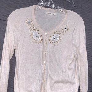 Old Navy Size Small Beaded Cardigan